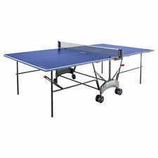 Kettler Axos 1 Outdoor Folding Weatherproof Table Tennis Ping Pong Table - Blue
