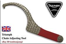 Triumph Speed Triple Daytona Chain / Hub Adjuster Tool (Stainless Steel)