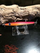 L249- FFTC's -  Vintage fishing lure body Smithwick Devils horse yellow RED