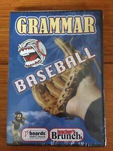 Sealed Grammar Baseball CD-ROM for SMART Boards Interactive Whiteboards