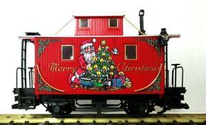 LGB 44650 CHRISTMAS CABOOSE   NEW
