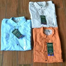 NWT Field Stream Short Sleeve Universal Travel Shirt RETAIL $60 Large OR Medium