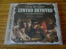 CD Album: Lynyrd Skynyrd : Taking the Biscuit : Live King Biscuit 1975 : Sealed