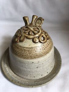 Jon Partridge Pottery Dish With Domed Lid Cheese Butter Decorative Pottery