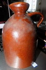 ANTIQUE MAPLE ORCHARDS STONE WARE JUG FROM VERMONT GREAT SHAPE SEE PIC NO CHIPS