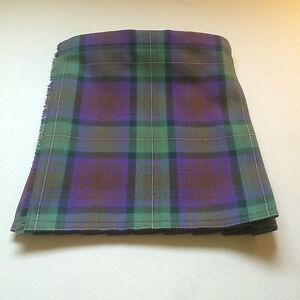 Isle of Skye Tartan Baby Kilt  0-3 m to 2-3 y (Waist & Length Sizes Shown)