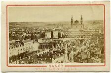 Cdv. Nancy, Panorama, Orig.-Photo um 1880
