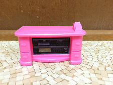 Barbie Doll Pink Nightstand Entertainment Center End Table Living Room Furniture