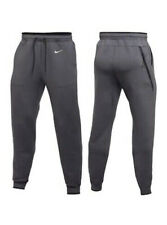 $105🔥NIKE® THERMA-FIT® FLEECE MEN'S XL HEATHER GREY TRAINING JOGGER PANTS TECH