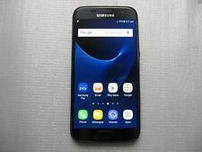 Factory Unlocked Optus profile SAMSUNG Galaxy S7 Black 32GB Phone AU