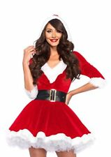NEW Womens 2 Piece Mrs. Santa Claus Costume Santacon Medium Large