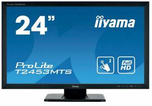 "Iiyama ProLite T2452MTS-B4 24"" Widescreen LED Monitor - Schwarz"