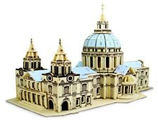 NEW ST PAUL'S CATHEDRAL Construction Kit - Wooden BUILDING 3D Model KIDS/ADULTS