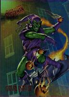 2017 Ultra Spider-Man Rainbow Foil Achievement Exclusive Card #96 Green Goblin
