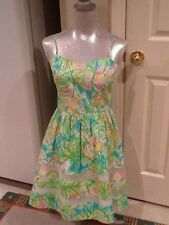 Lilly Pulitzer women's Fit & Flare Dress Ollie Elephant Ears NWT 6