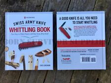 SWISS ARMY KNIFE WHITTLING BOOK Wood Carving Guide Victorinox Bushcraft SAK EDC