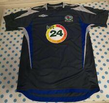 Vintage Blackburn Rovers Training T Shirt Top Umbro Size Small