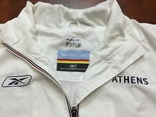 RARE Reebok 2004 Athens Olympics Lightweight Coat Jacket Mens Size 2XL XXL 56