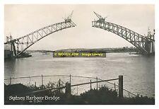 rp10959 - Construction of Sydney Harbour Bridge , Australia 1930 - photo 6x4