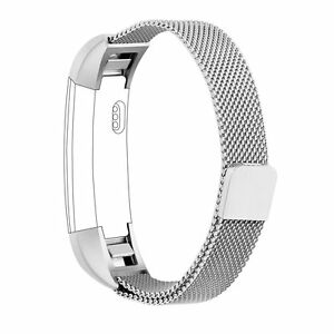 Milanese Loop Stainless Steel Replacement Watch Band Strap For Fitbit Alta & HR