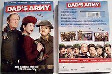 Dad's Army NEW DVD WWII Comedy Toby Jones Catherine Zeta-Jones Bill Nighy SEALED