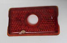 NOS Ruby Red Glass Tail Light Lens open Eye B-438 1941 Oldsmobile  (599)