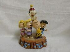 Jim Shore Peanuts Gang Lucy Brown Hooray Snoppy Woodstock Figurine 4044685