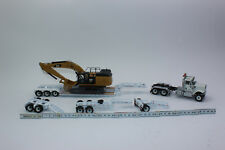 Diecast Masters 85600 HX520 Tractor + Low Loader + Cat 349F 1:50 New IN Boxed