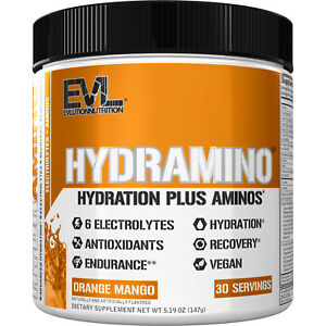 Evlution Nutrition Hydramino Electrolytes and Amino Acids, 30 Servings