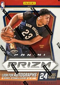 2015/16 Panini Prizm NBA Basketball Card Box. LOOK FOR SILVER ROOKIE PRIZMS, WOW