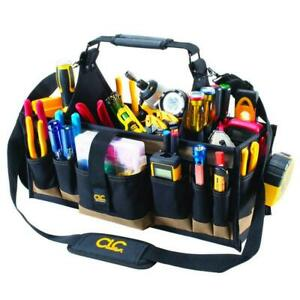 Custom LeatherCraft 1530 43-Pocket Electrical and Maintenance Tool Carrier