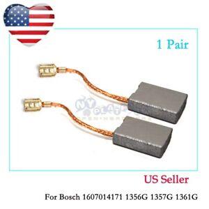 Carbon Brush Set For Bosch 1607014171 1356G 1357G 1361G 1363 1364 1365 1752 US