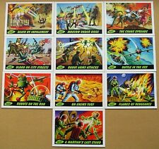 Mars Attacks! Heritage Deleted Scenes Chase Card Set Topps (2012)