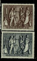 Portugal SC# 737 & 738, Mint Hinged, Hinge Rems, 737 some gum creasing - S6359