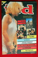 BLONDIE DEBBIE HARRY ON SEXY COVER 1982 RARE EXYUGO MAGAZINE