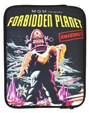 4-OK Forbidden Planet Neopren SchutzHülle Tasche Schwarz für Mediox MID9742