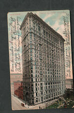 going to baseball game October 3 1906 Empire Building NY pc to Sheffield PA