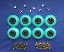 Outdoor Rollerblade Inline Hockey Skate Wheels 70mm 84A +Abec 7 Bearings Spacers