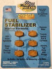 Dyno-tab® Marine Stabilizer 6-tab Dynotab Card for Marine Vessels, Boats, Yachts