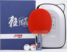 NICE DHS high end Ping Pong table tennis paddle racket, Hurricane #1/#2. USA