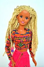 Sindy Doll Crimp and Bead Dreadlock Hair', Original Clothes, Vintage 1990's