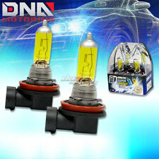 X2 H11 3000K XENON HALOGEN AMBER LOW BEAM HEAD LIGHT/LAMP/BULB FOR GMC CADILLAC