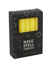 Candles 12 Magic Spell - Success Yellow 10cm