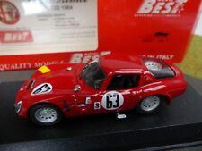 1/43 Best Alfa Romeo TZ2 Sebring 1966 Geki/Andrey #63 9113