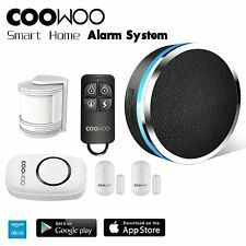 COOWOO ST30 Wireless Smart Home Security Alarm System Kit pp pp Control by APP