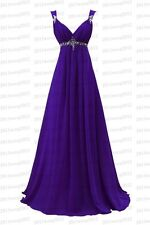 New Formal Long Evening Ball Gown Party Prom Bridesmaid Dress Stock Size 6-22