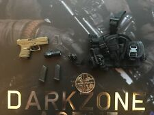 Virtual Toys The Dark Zone Agent Tracy G26 Pistol & Holster loose 1/6th scale