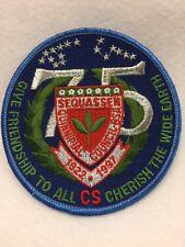 "Boy Scouts - 1922-1997 SEQUASSEN - Quinnipiac Council, 75th anniversary 4"" patch"