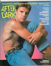 AFTER DARK entertainment magazine/ERNEST THOMPSON 3-77