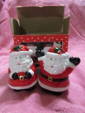 SANTA CLAUSE SALT AND PEPPER SHAKERS